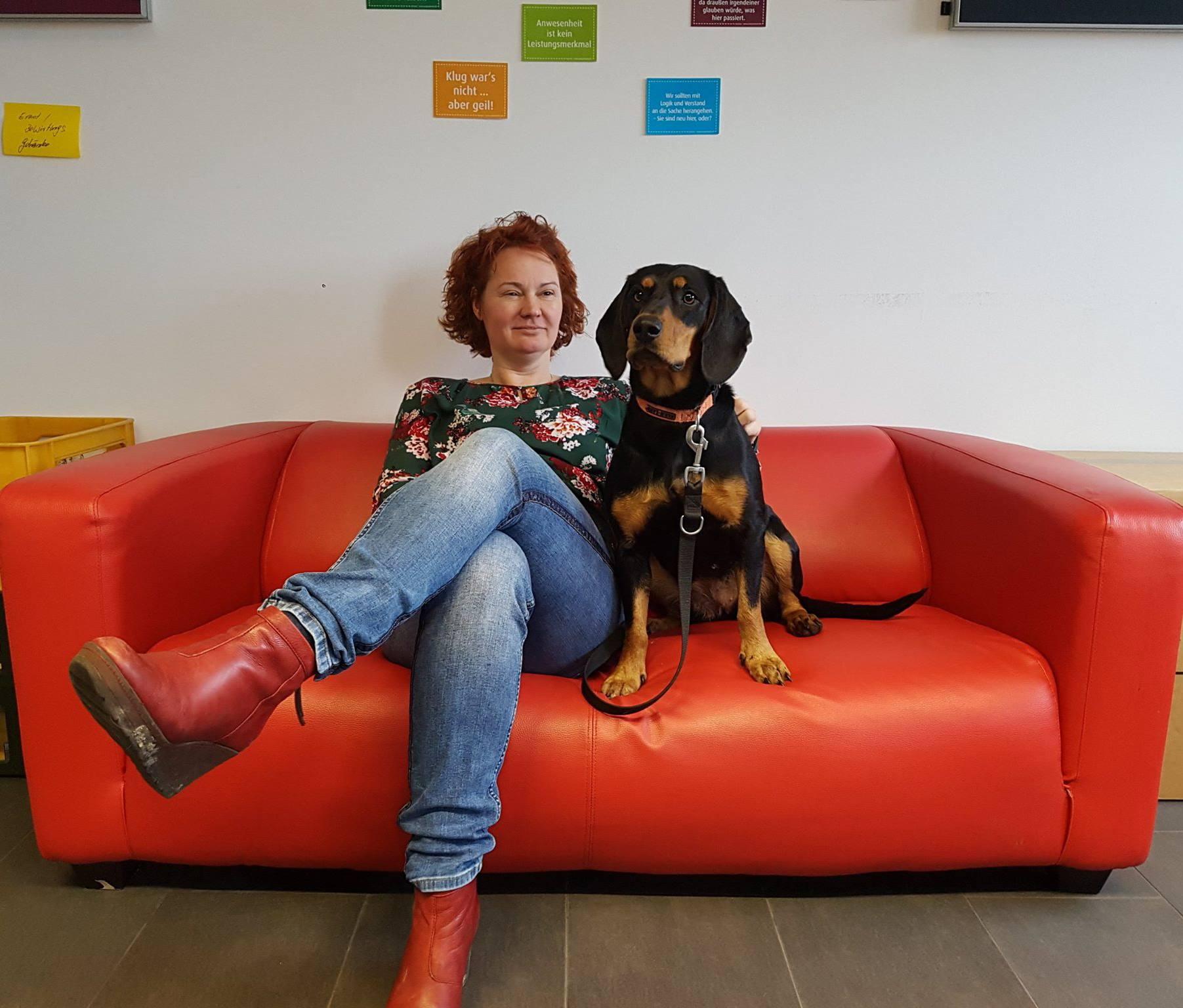 Werkstudent Sales mit Hund
