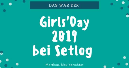 Girls'Day @Setlog