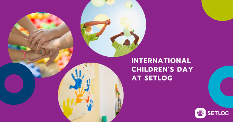 Beitragsbild International Children's Day at Setlog