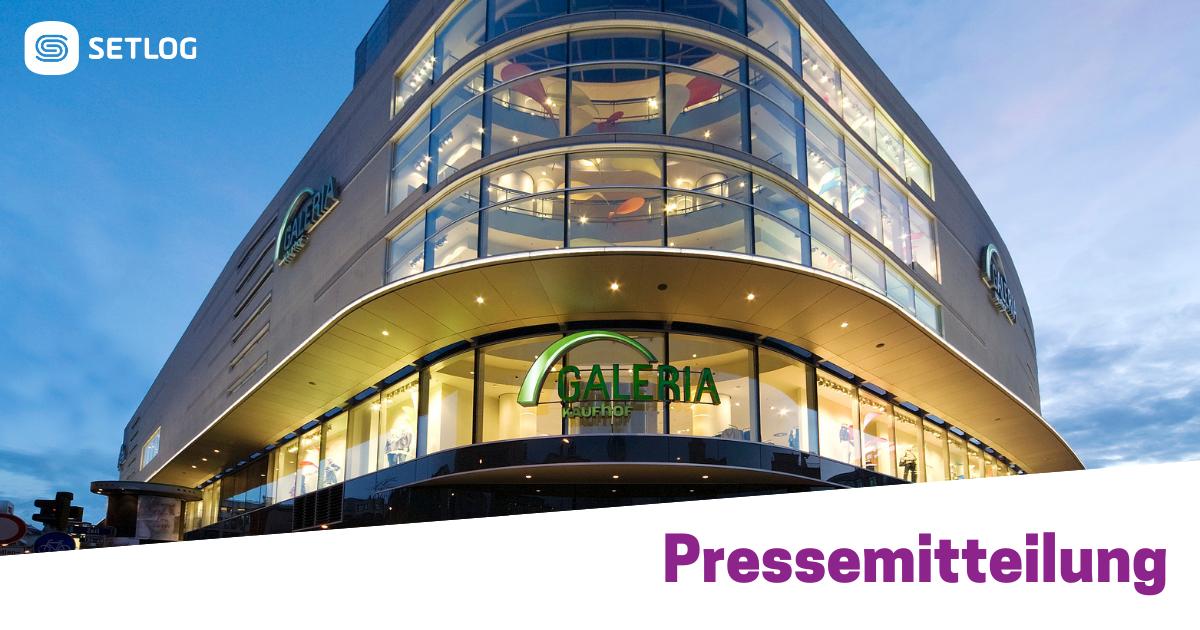 Beitragsbild Setlog Software unterstützt Galeria Kaufhof bei der Digitalisierung von Qualitätsprüfungen