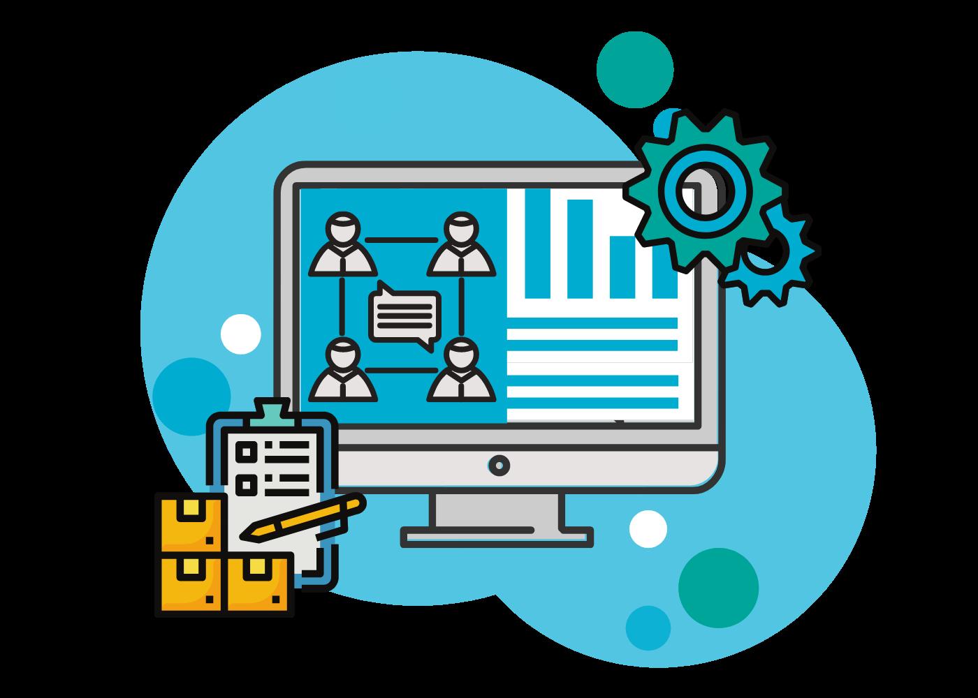 digitale Supply Chain Management Software OSCA SRM für das Lieferantenmanagement