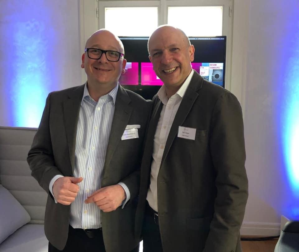 Guido Brackelsberg und Ralf Düster von Setlog