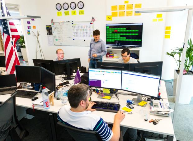 Software Engineer im Team
