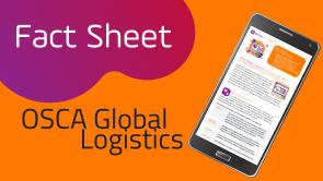 Setlog OSCA Global Logistics Fact Sheet für sichere Lieferkette