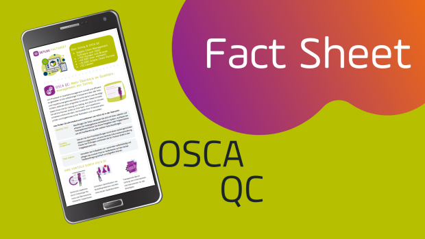 Setlog OSCA QC Fact Sheet für Quality Control