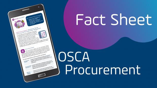 Beschaffungsprozess Optimieren mit Setlog OSCA Procurement Fact Sheet