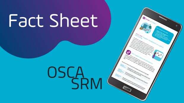 Software Lieferantenmanagement Setlog OSCA SRM Fact Sheet